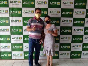 Acip recebeu visita do secretário de esporte visando parcerias